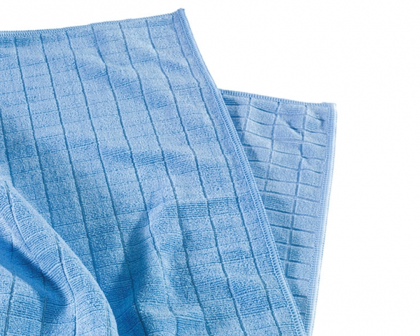 MEGA CLEAN-Microfaser-Putz-Tücher,  Mikrofaser-Tuch, Universal- und Boden-Tuch, blau
