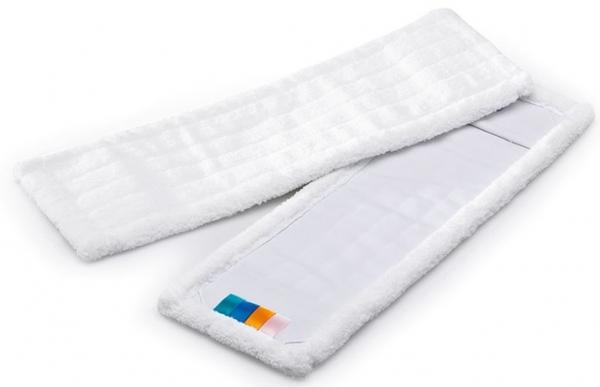 MEGA CLEAN-Wisch-Mopps-Pads, Mikrofaser-Mop, MEGA MC, 40 cm, weiß
