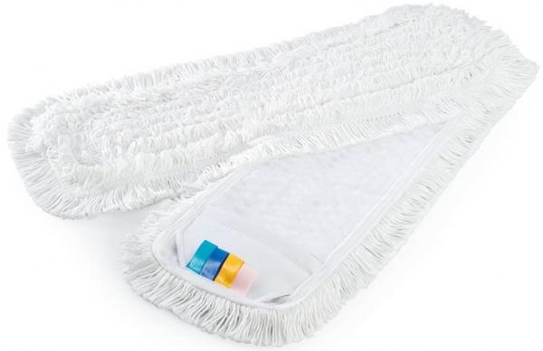 MEGA CLEAN-Wisch-Mopps-Pads, Universal-Schlingen-Mop, Polyester/Baumwolle, 40 cm, we