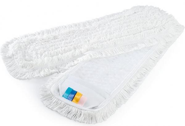 MEGA CLEAN-Wisch-Mopps-Pads, Universal-Schlingen-Mop, Polyester/Baumwolle, 50 cm, we