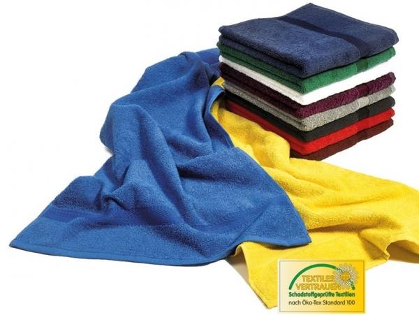 MEGA CLEAN Baumwolle-Duschtücher, Microfaser-Dusch-Tuch, 3 Stück, weiß