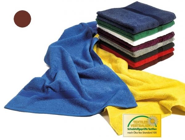 MEGA CLEAN Baumwolle-Duschtücher, Microfaser-Dusch-Tuch, 3 Stück, zimt