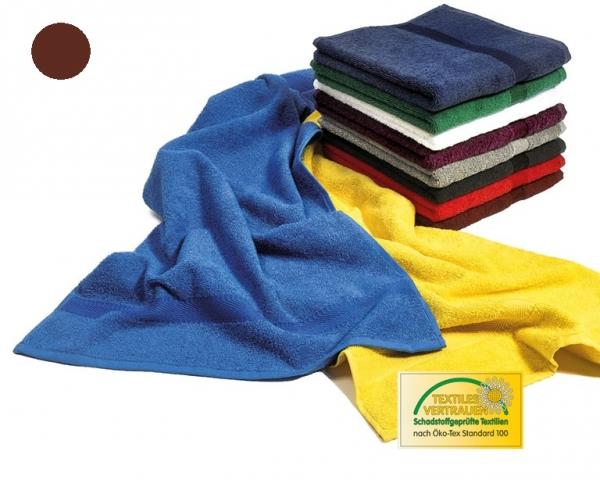 MEGA CLEAN Mikrofaser-Handtücher, Microfaser-Handtuch, 10 Stück, zimt