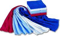 MEGA CLEAN-Hygiene, Mikrofaser-Waschlappen, Seiflappen, 12 Stück, schwarz