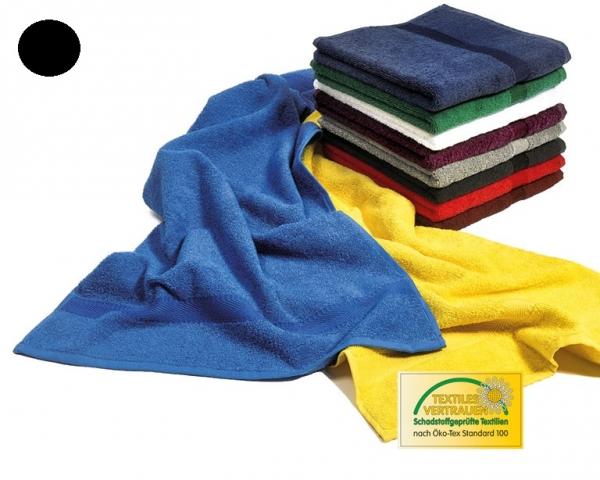 MEGA CLEAN-Hygiene, Mikrofaser-Wasch-Handschuhe, 6 Stück, schwarz