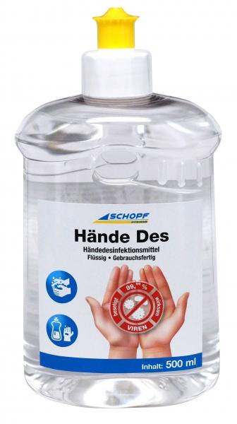 SCHOPF Händedesinfektion HändeDes 500ml