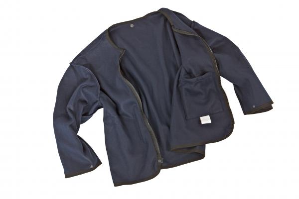 KIND-Berufsbekleidung Zubehör, Wetter-Schutz-Jacke, Innenfutter, Fleece-Wärmfutter, Farbe navy