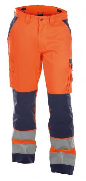 DASSY-Warnschutz-Bundhose BUFFALO  orange/dunkelblau