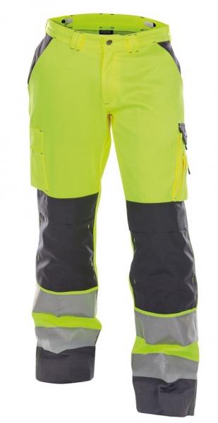 DASSY-Warnschutz-Bundhose BUFFALO  gelb/grau