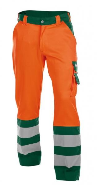 DASSY-Warnschutz-Bundhose LANCESTER , orange/grün