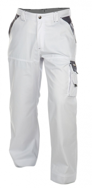 DASSY-Bundhose NASHVILLE, , weiß/grau
