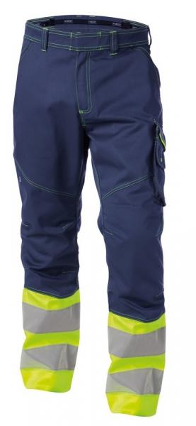 DASSY-Warnschutz-Bundhose PHOENIX , gelb/dunkelblau