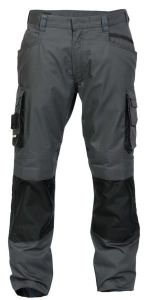 DASSY-Bundhose NOVA,  grau/schwarz