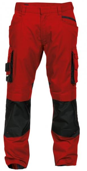 DASSY-Bundhose NOVA,  rot/schwarz