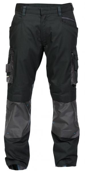 DASSY-Bundhose NOVA,  schwarz/grau