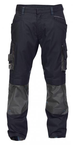 DASSY-Bundhose NOVA,  dunkelblau/grau