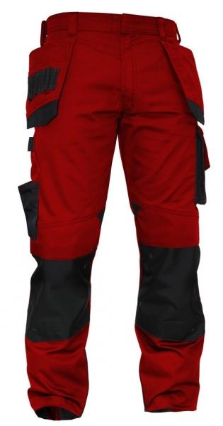 DASSY-Bundhose MAGNETIC,  rot/schwarz