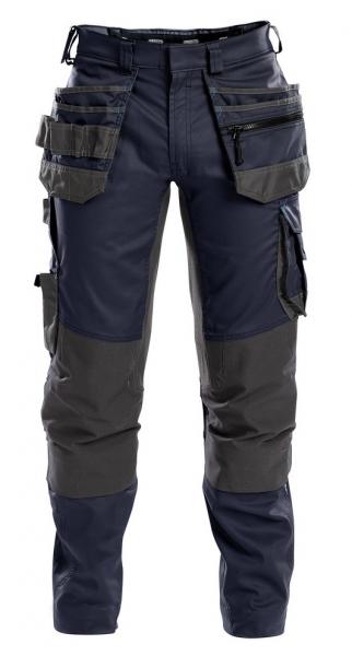 DASSY-Bundhose FLUX, dunkelblau/grau