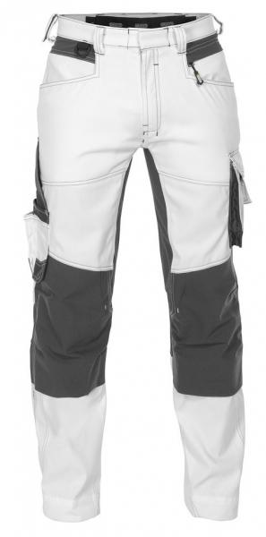 DASSY-Malerhose mit Stretch DYNAX PAINTERS weiß/grau
