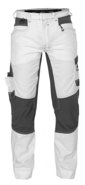 DASSY-Malerhose mit Stretch HELIX PAINTERS, weiß/grau