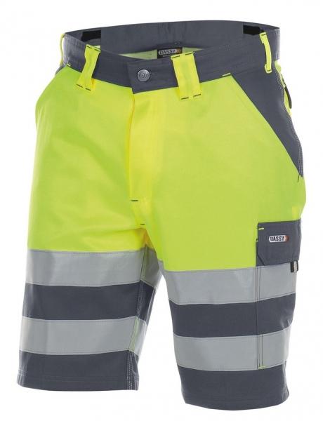 DASSY-Warnschutz-Shorts VENNA , gelb/grau