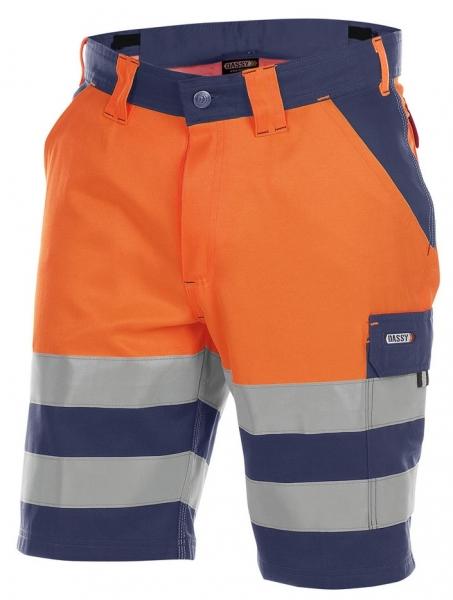 DASSY-Warnschutz-Shorts VENNA , orange/dunkelblau