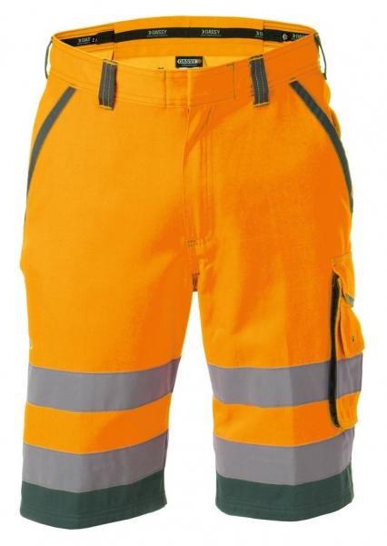 DASSY-Warnschutz-Shorts LUCCA , orange/grün