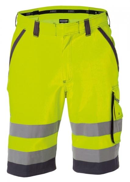 DASSY-Warnschutz-Shorts LUCCA , gelb/grau