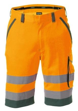 DASSY-Warnschutz-Shorts LUCCA orange/grün