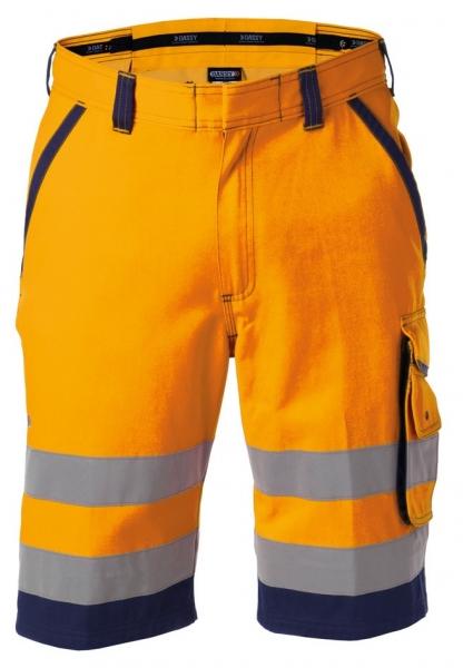 DASSY-Warnschutz-Shorts LUCCA orange/dunkelblau