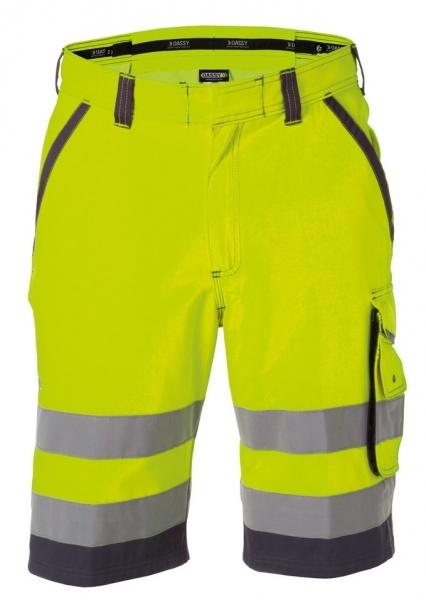 DASSY-Warnschutz-Shorts LUCCA gelb/grau