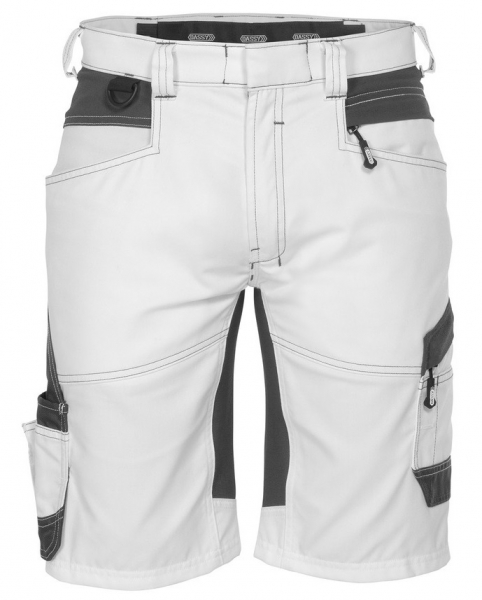 DASSY-Malershorts mit Stretch AXIS PAINTERS, weiß/grau