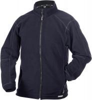 DASSY-Winter-Fleece-Arbeits-Berufs-Jacke, PENZA 260 g/m², dunkelblau