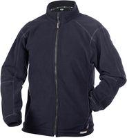 DASSY-Damen-Fleece-Arbeits-Berufs-Jacke, PENZA, 260g/m², dunkelblau