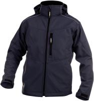 DASSY-Winter-Softshell-Arbeits-Berufs-Jacke, TAVIRA,, 280 g/m², dunkelblau