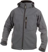 DASSY-Winter-Softshell-Arbeits-Berufs-Jacke, TAVIRA, 280 g/m², grau