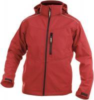 DASSY-Winter-Softshell-Arbeits-Berufs-Jacke, TAVIRA, 280 g/m², rot