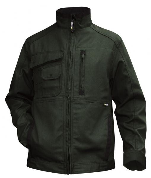 DASSY-Arbeitsjacke KENT,  grün/schwarz