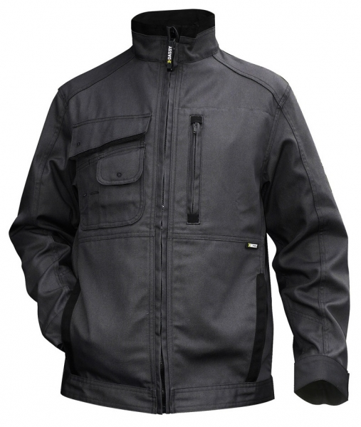 DASSY-Arbeitsjacke KENT,  grau/schwarz