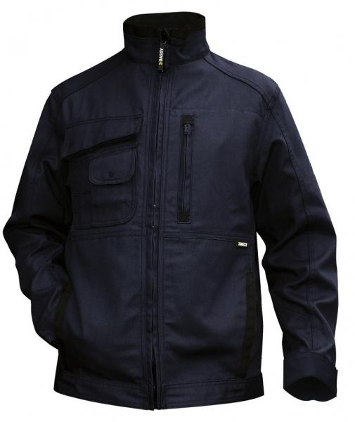 DASSY-Arbeitsjacke KENT,  dunkelblau/schwarz