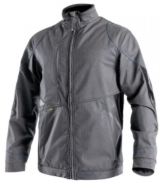 DASSY-Arbeitsjacke ATOM,  grau/schwarz
