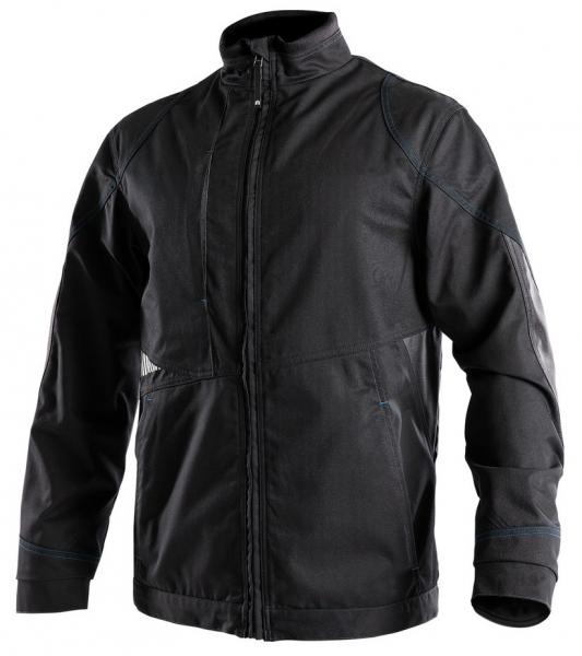 DASSY-Arbeitsjacke ATOM,  schwarz/grau