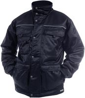 DASSY-Winter-Wetter-Arbeits-Berufs-Jacke, CHATEL, 240g/m², dunkelblau