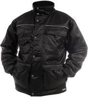 DASSY-Winter-Wetter-Arbeits-Berufs-Jacke, CHATEL, 240g/m², schwarz