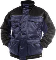 DASSY-Winter-Wetter-Arbeits-Berufs-Jacke, TIGNES, 240g/m², dunkelblau/schwarz