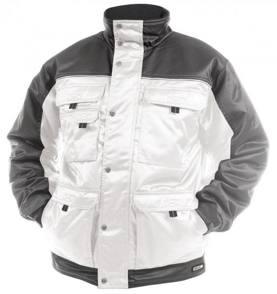 DASSY-Winterjacke TIGNES,  weiß/grau