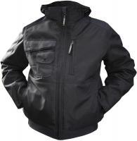 DASSY-Winter-Arbeits-Berufs-Jacke, AUSTIN, 240 g/m², schwarz