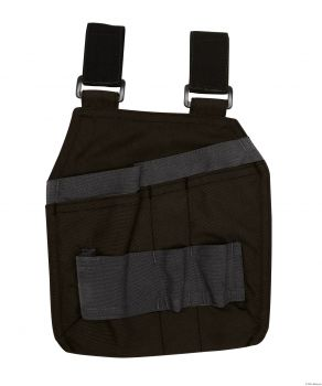 DASSY-Werkzeugtaschen mit Schlaufen CORDON, schwarz/grau