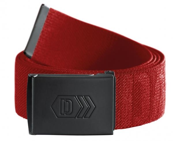 DASSY-Stretch-Gürtel mit Aufdruck XANTUS, rot