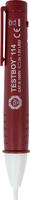 TESTBOY 114, Spannungs-Tester, Prüf-Mess-Gerät, berührungslos, ab 12 V AC, optisch + vibrierend
